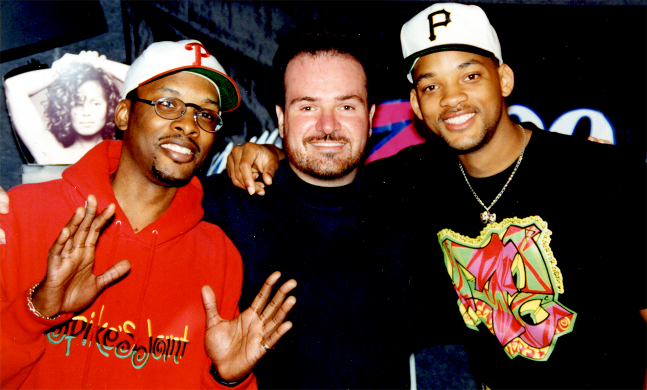 Jazzy Jeff ~ Steve ~ Will Smith
